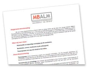 MBalm mailing 2016